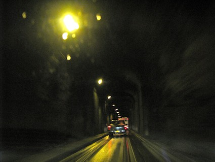 Anton Anderson Memorial Tunnel In Whittier Alaska With