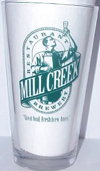Mill Creek Restaurant and Brewery - Breweriana & Map